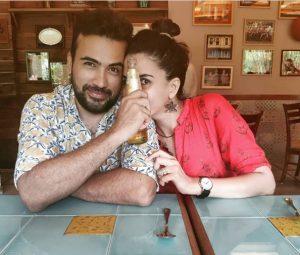 Kirti Kulhari with her Husband Saahil Seyghal