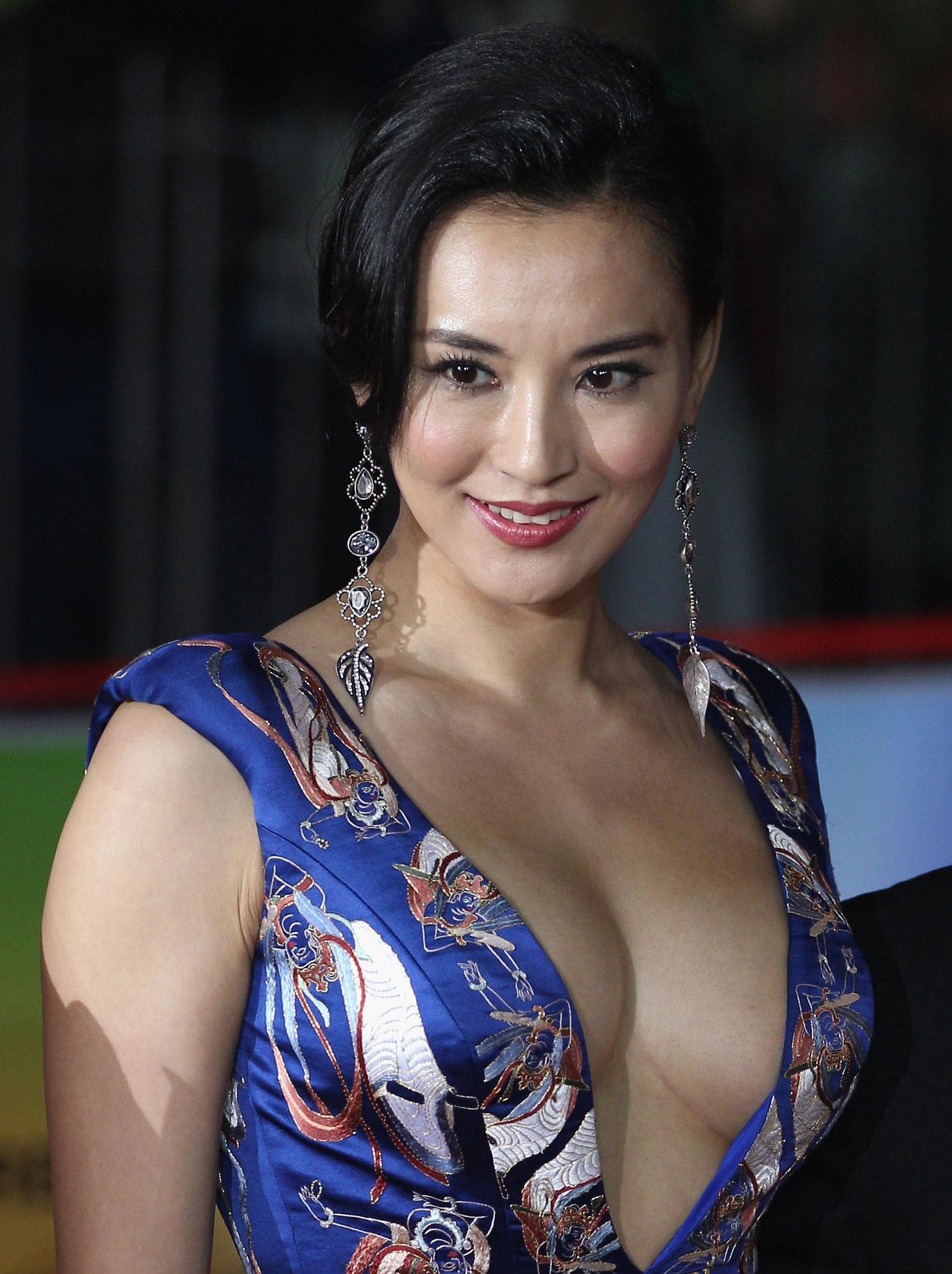 Monica Mok Beautiful Chinese Model