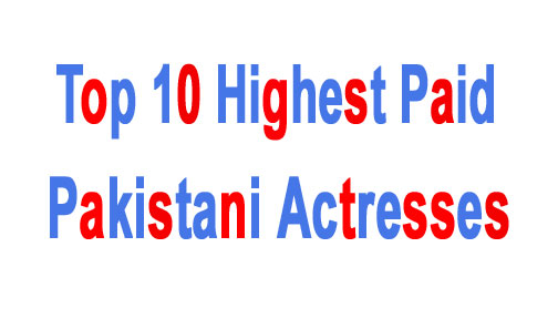 Pakistani Best Actresses
