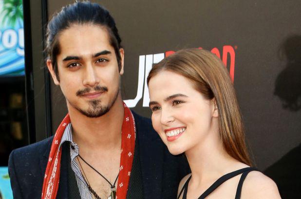 Avan Jogia With His Girlfriend Zoey Deutch
