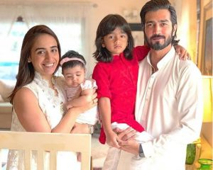 Shehzad Sheikh with his Wife & Kids
