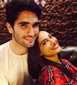 Surbhi Jyoti with her Boyfriend Varun Toorkey