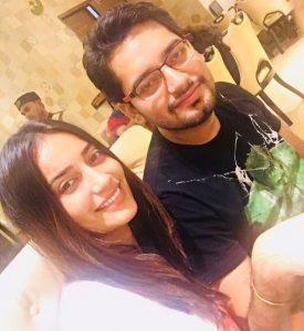 Surbhi Jyoti with her Brother Shanu Jyoti