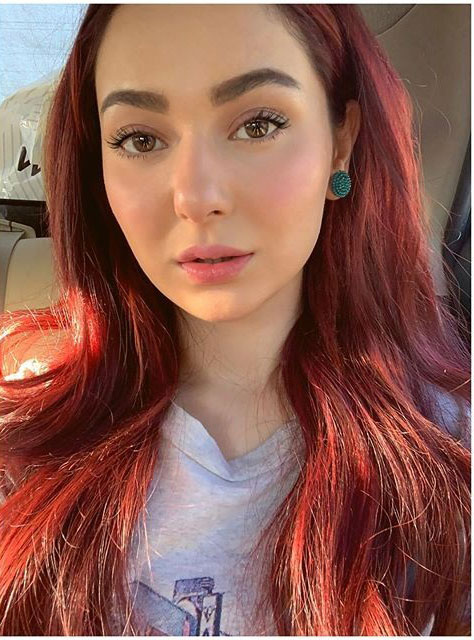 Hania Amir Beautiful Look