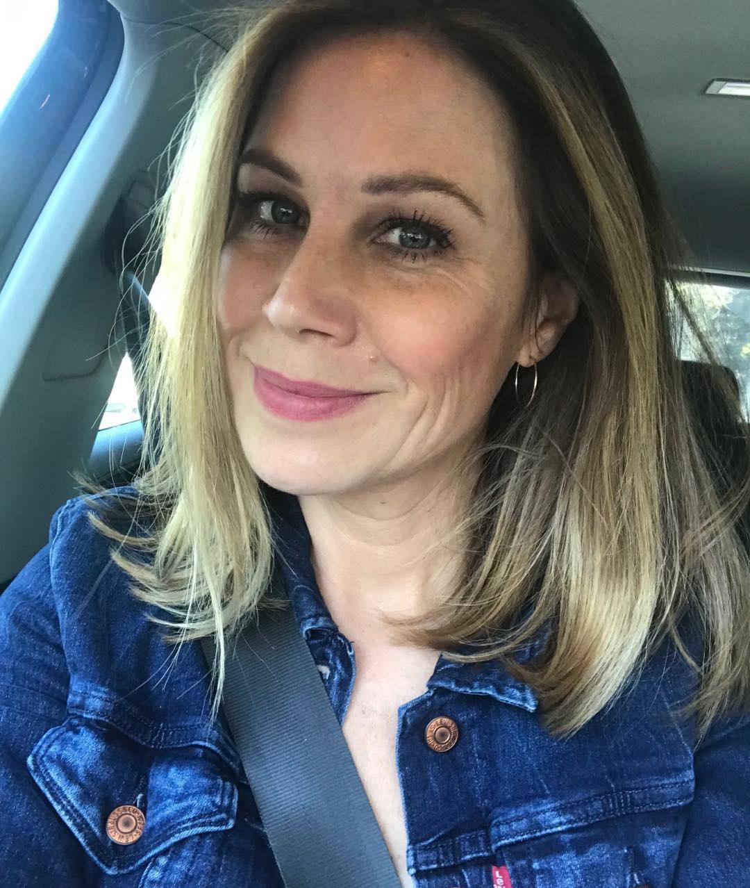 Jane Hall in Instagram Selfie