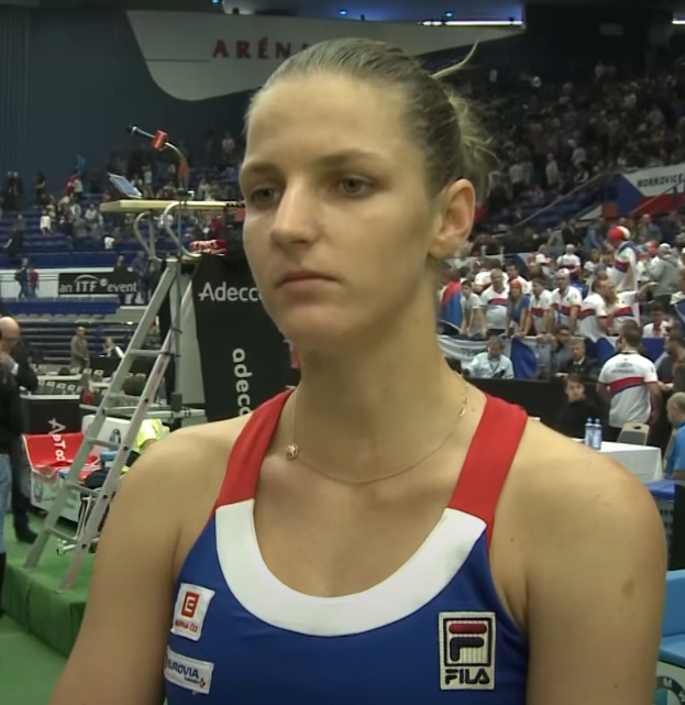 Karolina Pliskova Most Beautiful Female Tennis Players