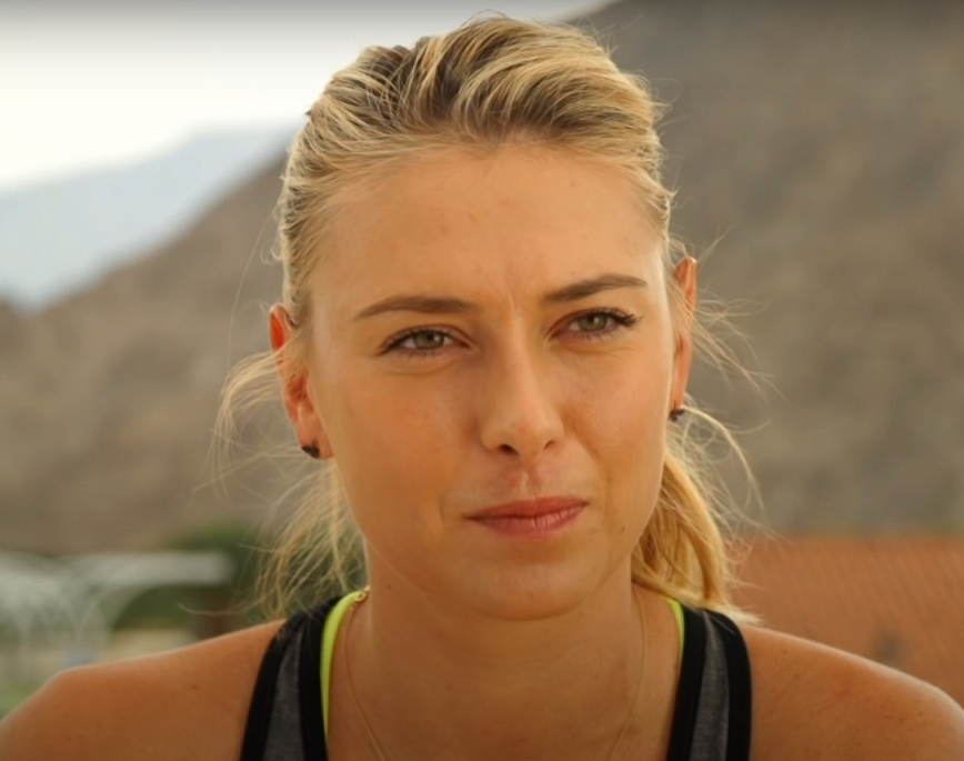 Maria Sharapova - Beautiful Female Tennis Players List 2020