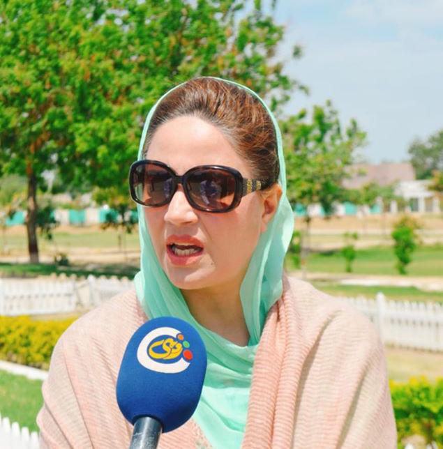 Pakistani Politician Zartaj Gul