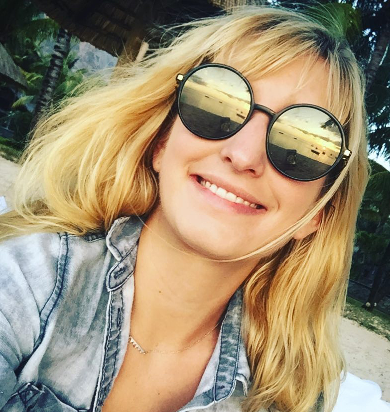 Timea Bacsinszky in Selfie on Instagram
