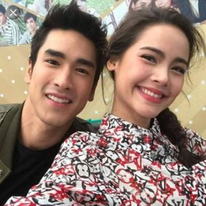 Yaya with her boyfriend Nadech Kugimiya