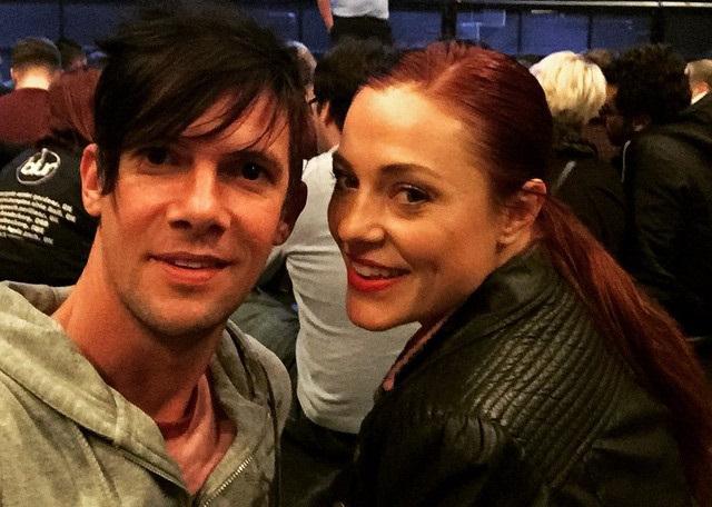 Ella Scott Lynch with Her Husband Toby Schmitz