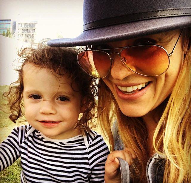 Ella Scott Lynch with her daughter Ziggy Schmitz